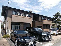 東京都世田谷区給田4の賃貸アパートの外観