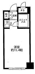 メゾン大塚[4階]の間取り
