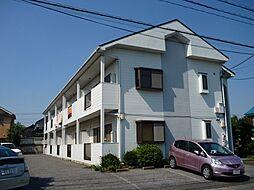 埼玉県越谷市東越谷2丁目の賃貸アパートの外観