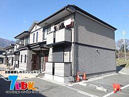 奈良県御所市大字三室の賃貸アパートの外観