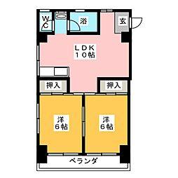 清住ビル[3階]の間取り