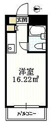 メゾン・ド・ノア狭間[6階]の間取り