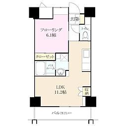 クラシオン小笹山手 3番館[1階]の間取り