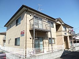 東京都東大和市清水4丁目の賃貸アパートの外観