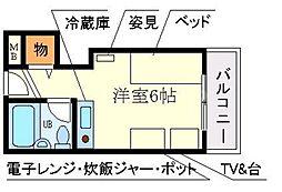 アメニティ寿[2階]の間取り