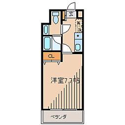 ルート相模が丘[4階]の間取り