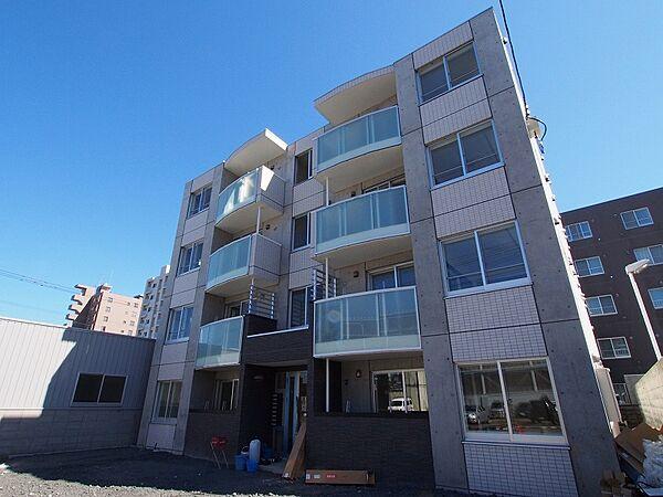 北海道札幌市豊平区豊平三条11丁目の賃貸マンションの外観