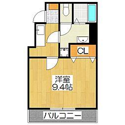 NEO-OGASAWARA[201号室]の間取り