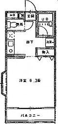福岡県福岡市東区馬出5丁目の賃貸アパートの間取り