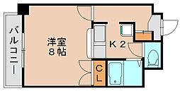 エミネンス藤[2階]の間取り