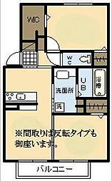 (新築)D−room恒久南[2階]の間取り