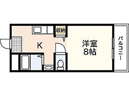 ピュアフィネス[4階]の間取り