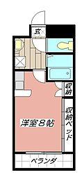アンシャンテ浅生[603号室]の間取り