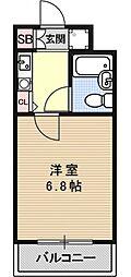 ダイアパレス京都祇園[307号室号室]の間取り