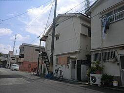 前園アパート[1階]の外観