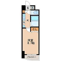 S-FORT宮町[5階]の間取り