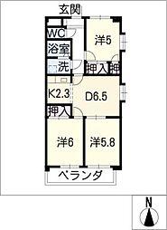 ESPERANZA[3階]の間取り