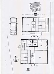 [一戸建] 埼玉県さいたま市浦和区皇山町 の賃貸【/】の間取り