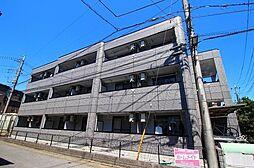 埼玉県草加市花栗1丁目の賃貸マンションの外観