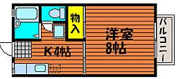 サンコーポ東古松[2階]の間取り