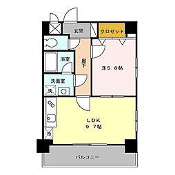 メゾンdeウノ[2階]の間取り