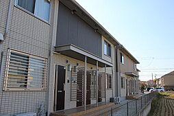 愛知県あま市篠田稲荷の賃貸アパートの外観