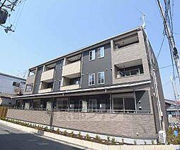 京都府京都市南区吉祥院東前田の賃貸アパートの外観