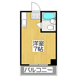 スイング岡崎[302号室]の間取り