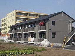 茨城県水戸市見和1丁目の賃貸アパートの外観