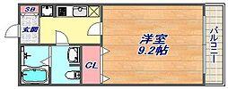 マ・メゾン魚崎[205号室]の間取り