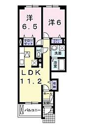 アウスピカーレ A・B[B103 号室号室]の間取り