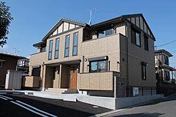 静岡県三島市光ケ丘の賃貸アパートの外観
