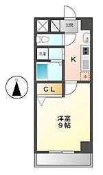 サニー金山[2階]の間取り