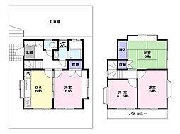 [一戸建] 千葉県市川市国分3丁目 の賃貸【/】の間取り