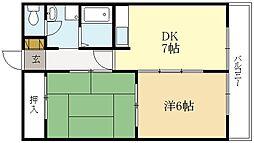 プラムアコード[2階]の間取り