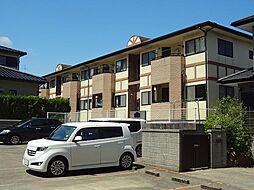 宮崎県宮崎市花山手西2丁目の賃貸アパートの外観