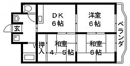 ウィル長田[402号室号室]の間取り