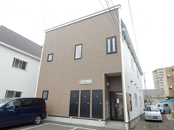 サンビレッジ 2階の賃貸【北海道 / 札幌市白石区】