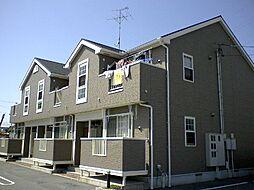 山口県宇部市厚南中央1丁目の賃貸アパートの外観