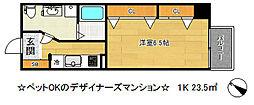 メゾン・ドゥ・エトワール[3階]の間取り