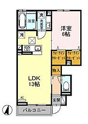 仮)D-Room湘南台2丁目[103号室]の間取り