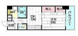 メゾンサクラ9[10階]の間取り