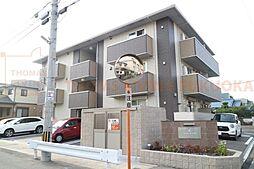 福岡県大野城市東大利1丁目の賃貸アパートの外観