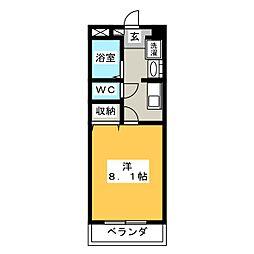 コンフォールメゾンⅡ[2階]の間取り