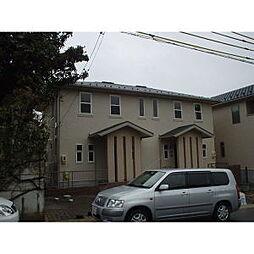 愛知県長久手市城屋敷の賃貸アパートの外観