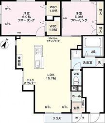 (仮)笹塚2丁目メゾン[1階]の間取り