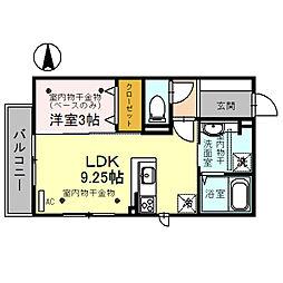 仮)D-room本町[3階]の間取り
