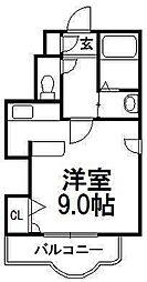 北海道札幌市白石区南郷通12丁目南の賃貸マンションの間取り