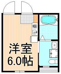 (仮称)アイ・ステージ千束新築工事[4階]の間取り