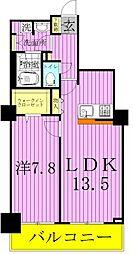 東京都荒川区南千住4丁目の賃貸マンションの間取り